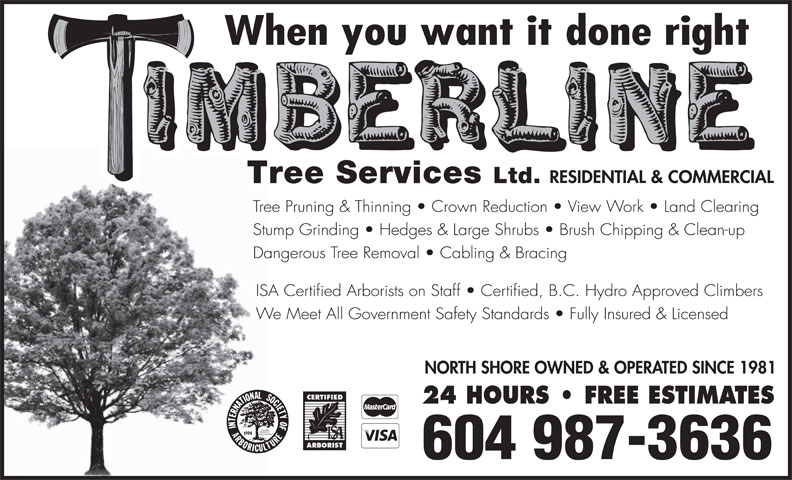 Ads Timberline Tree Services Ltd