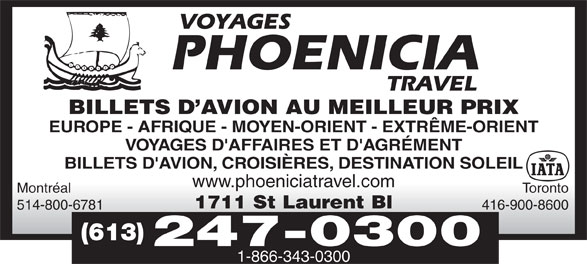 Ads Phoenicia Travel