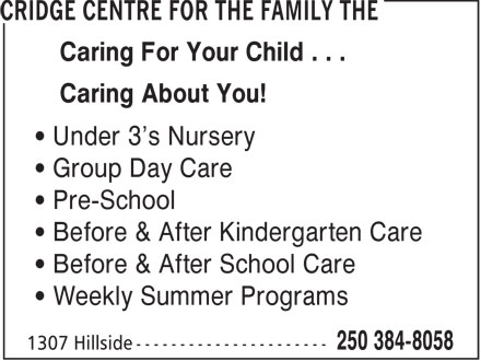 Ads Cridge Centre For The Family, The