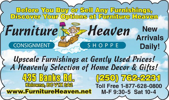 Ads Furniture Heaven Consign