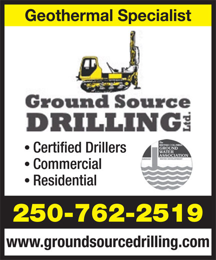 Ads Ground Source Drilling Ltd.