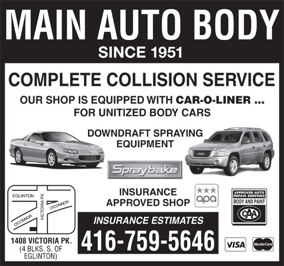 Ads Main Auto Body Ltd