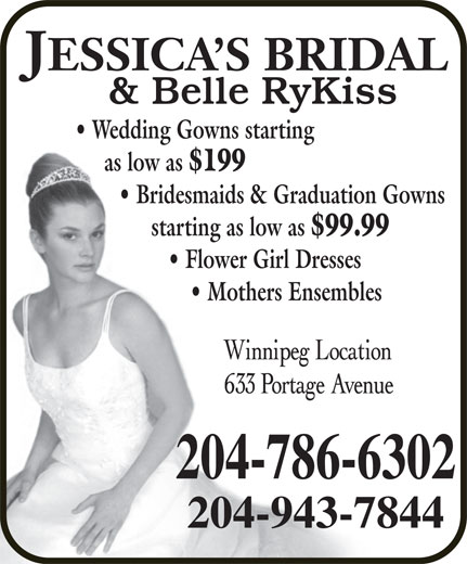 Ads Jessica&#039;s Bridal