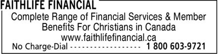 Ads Faithlife Financial