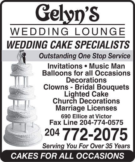 Ads Gelyn's Wedding Lounge