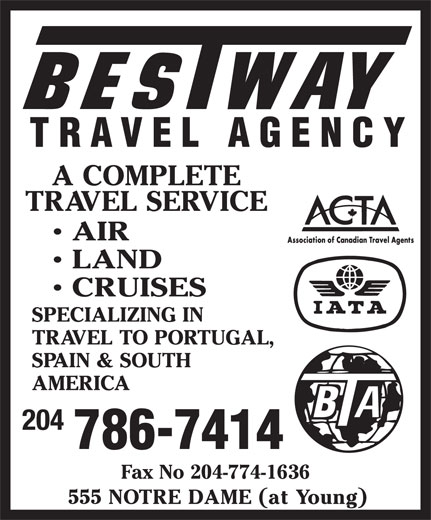 Ads Bestway Travel Agency