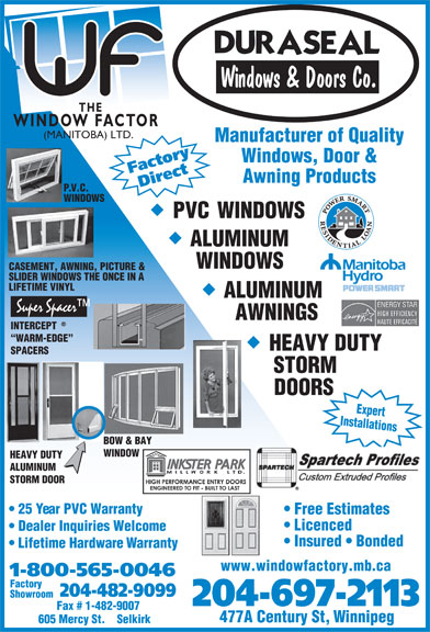 Ads Duraseal Windows & Doors Co