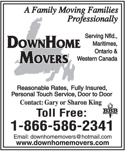 Ads DownHome Movers