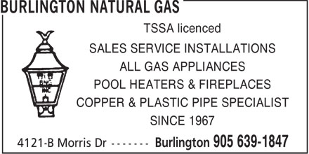 Ads Burlington Natural Gas