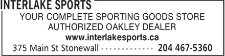 Ads Interlake Sports