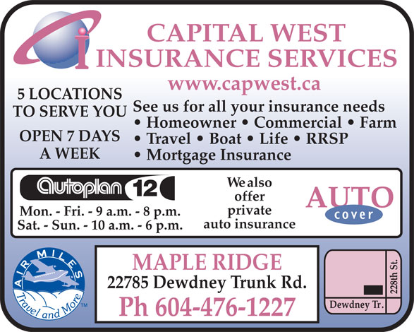 Ads Capital West Insurance Services