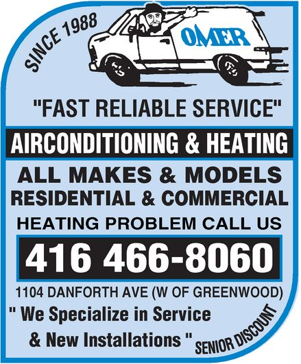 Ads Omer Air Conditioning & Heating