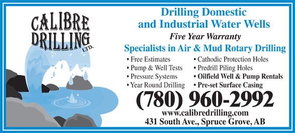 Ads Calibre Drilling Ltd