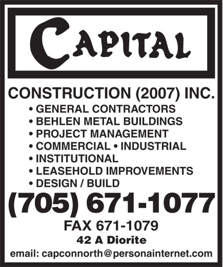 Ads Capital Construction (2007) Inc