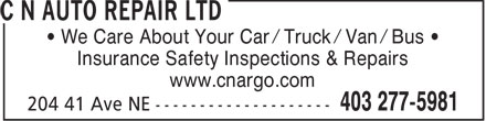 Ads C N Auto Repair Ltd