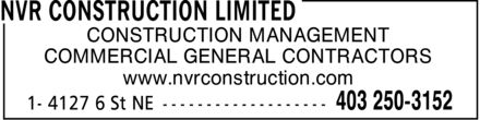Ads NVR Construction Limited