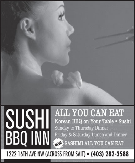 Ads Sushi BBQ Inn