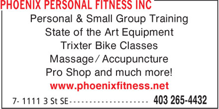 Ads Phoenix Personal Fitness Inc