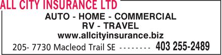 Ads All City Insurance Ltd