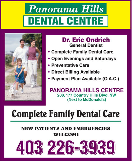 Ads Panorama Hills Dental Centre