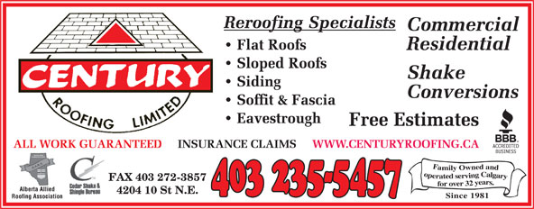 Ads Century Roofing Ltd