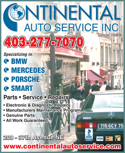 Ads Continental Auto Service Inc