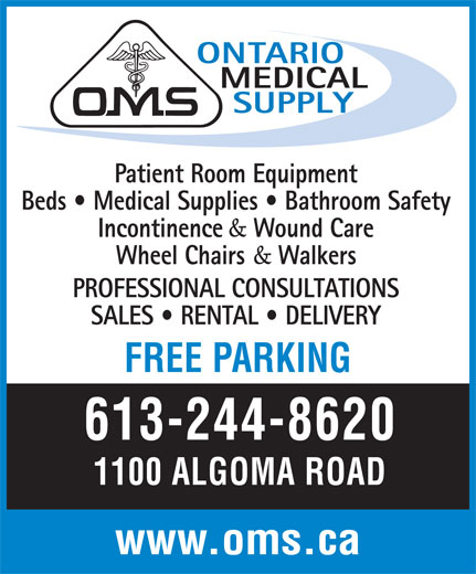 Ads Ontario Medical Supply Ltd