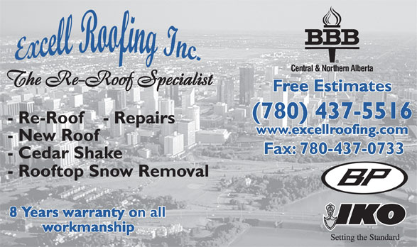 Ads Excell Roofing Inc