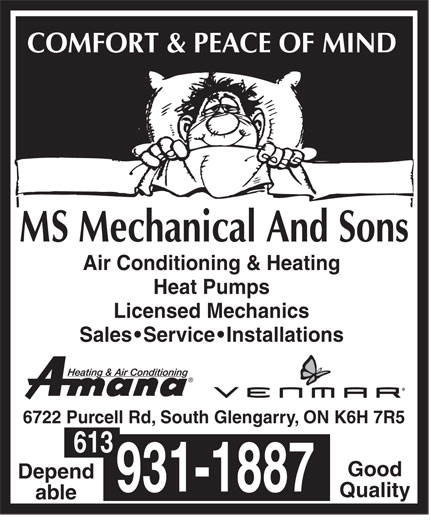 Ads MS Mechanical & Sons