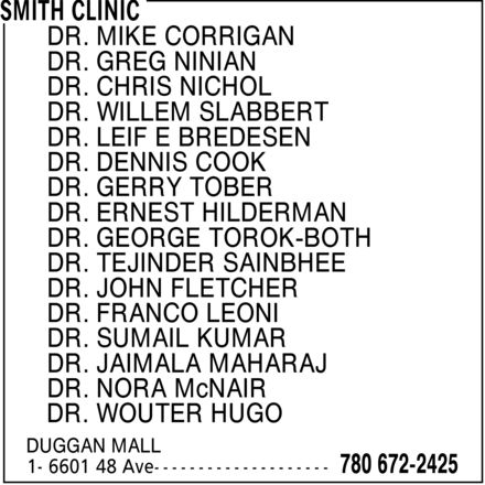 Ads Smith Clinic