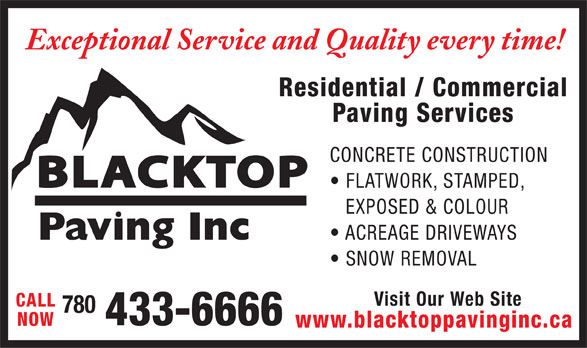 Ads Blacktop Paving Inc