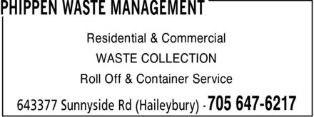 Ads Phippen Waste Management