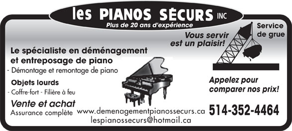Ads Pianos Securs (Les)