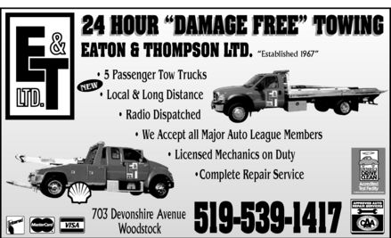 Ads Eaton & Thompson Ltd