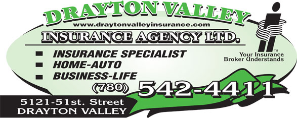 Ads Drayton Valley Insurance Agency Ltd