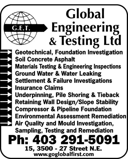Ads Global Engineering & Testing Ltd