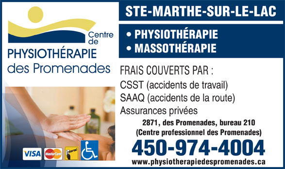 Ads Physiothrapie Des Promenades