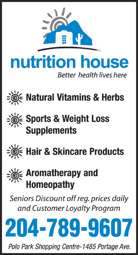 Ads Nutrition House