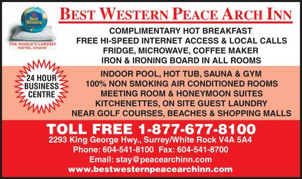 Ads Best Western Peace Arch