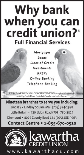 Ads Kawartha Credit Union