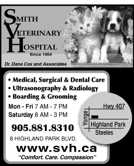 Ads Smith Veterinary Hospital