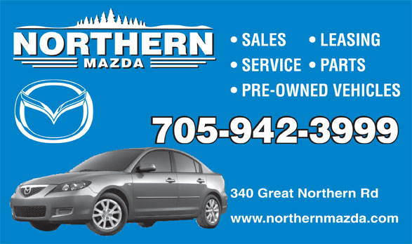 Ads Northern Mazda