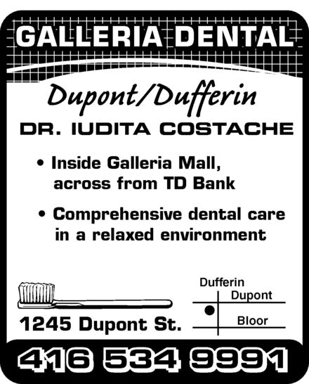Ads Galleria Dental Office
