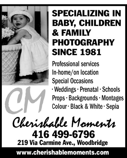 Ads Cherishable Moments Photography