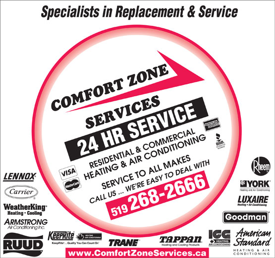 Ads Comfort Zone Services