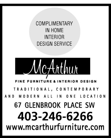 Ads McArthur Fine Furniture
