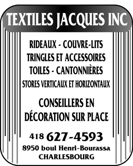 Ads Textiles Jacques Inc