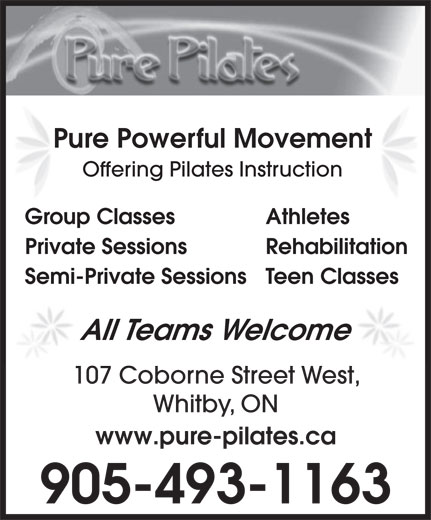Ads Pure Pilates