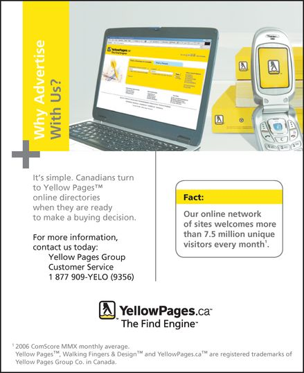 Ads YellowPages.ca