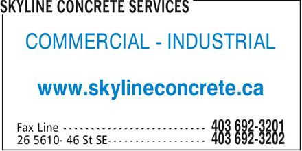Ads Skyline Concrete Services
